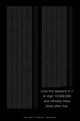 Love In Pi Poster