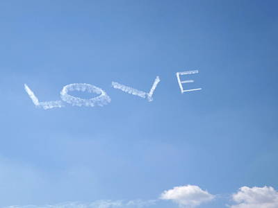 Poster featuring the photograph Love Is In The Air by Jodi Terracina