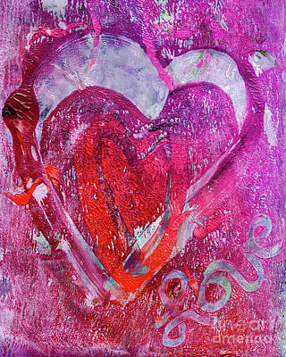 Love Is In The Air Poster by Laura L Leatherwood