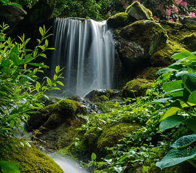 Love Is Like A Waterfall Poster by Jordan Blackstone