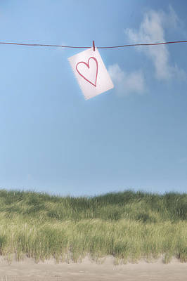 Love Letter From Cloud 9 Poster by Joana Kruse