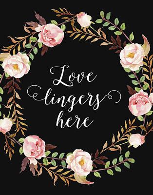 Love Lingers Here Poster