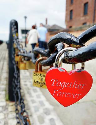 Love Locks Poster by Cordelia Molloy