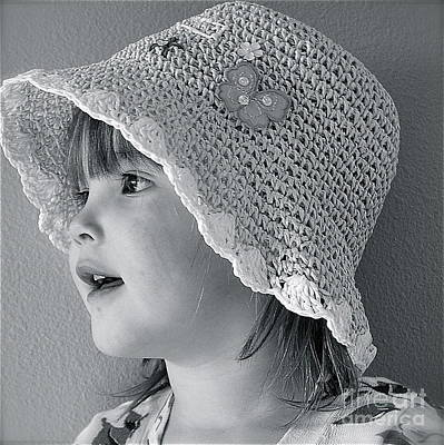 Poster featuring the photograph Love My Hat by Barbara Dudley