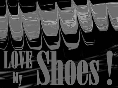Love My Shoes  Number 8 Poster by Diane Strain