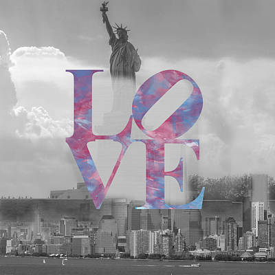 Love - New York City Poster
