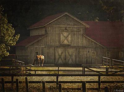 Love Of Country Vintage Art By Jordan Blackstone Poster