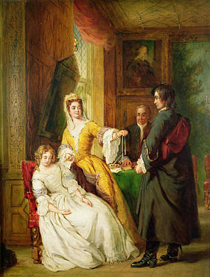 Love Token Poster by William Powell Frith