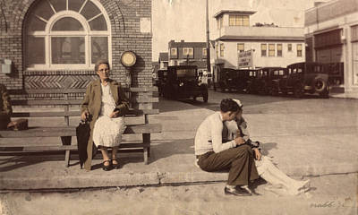 Poster featuring the photograph Love Waits by Ron Crabb