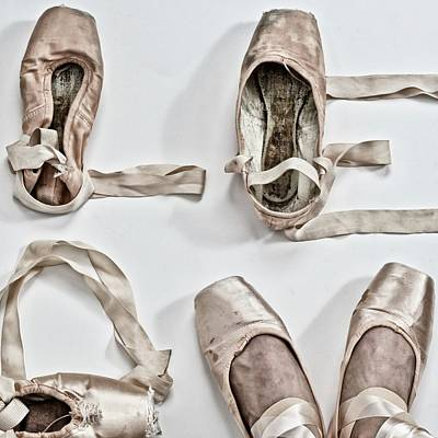 Love Written With Ballet Shoes Poster by 2014 Ap