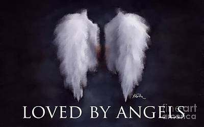Loved By Angels Poster by Karen Larter