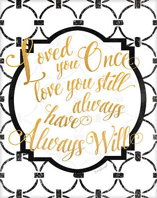 Loved You Once Poster by Jennifer Pugh