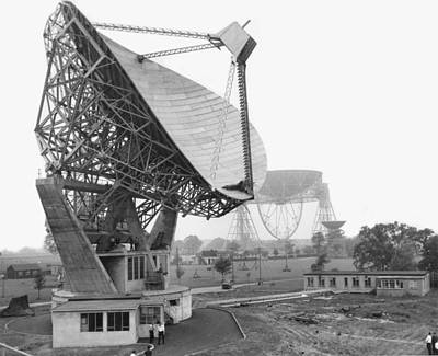 Lovell Radio Telescope, Historical Image Poster by Science Photo Library