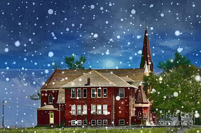Poster featuring the photograph Lovely Country Church by Liane Wright