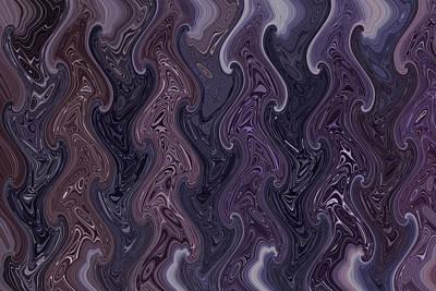 lovely Waves Poster by Dumindu Shanaka