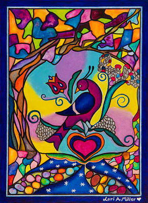 Loving The World Poster by Lori Miller