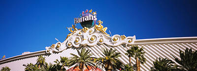 Low Angle View Of A Building, Harrahs Poster by Panoramic Images