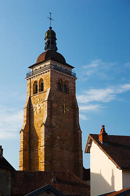 Low Angle View Of A Church, Eglise Poster by Panoramic Images