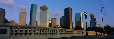 Low Angle View Of Buildings, Houston Poster by Panoramic Images
