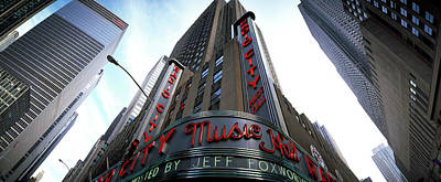Low Angle View Of Buildings, Radio City Poster by Panoramic Images