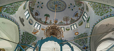 Low Angle View Of Ceiling Of Abuhav Poster