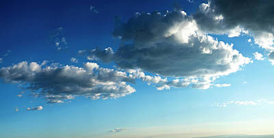 Low Angle View Of Cloudy Sky, Taos Poster by Panoramic Images
