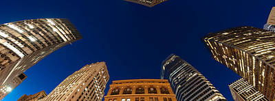 Low Angle View Of High-rise Buildings Poster by Panoramic Images