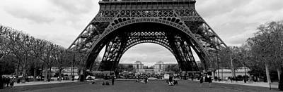 Low Section View Of A Tower, Eiffel Poster