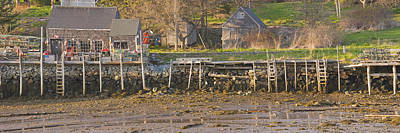 Low Tide Port Clyde Maine Poster by Keith Webber Jr