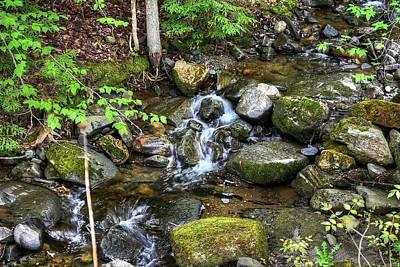 Lowell Mountain Stream Poster