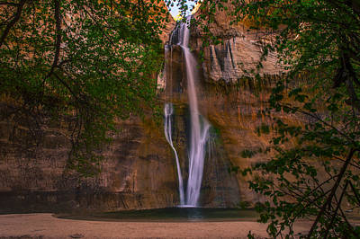 Lower Calf Falls Poster by Michael J Bauer
