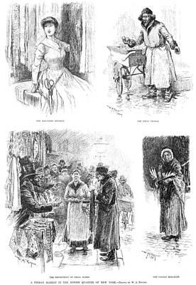 Lower East Side, 1889 Poster by Granger