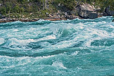 Lower Niagara River Ontario Canada Poster