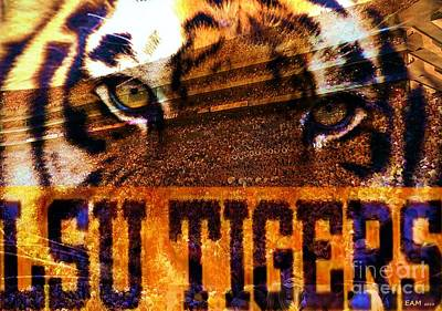 Lsu - Death Valley Poster