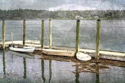 Lubec - Maine Boat Dock  Poster
