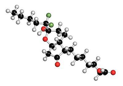 Lubiprostone Chronic Constipation Drug Poster by Molekuul