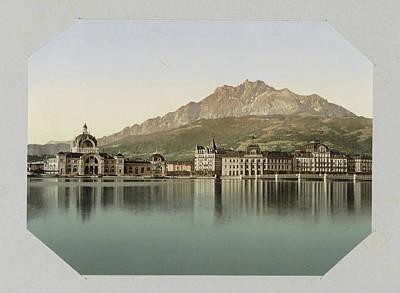 Lucerne, Switzerland Poster by Artokoloro