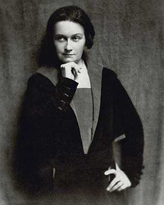 Lucile Watson Pensive Poster by Nickolas Muray