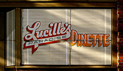 Poster featuring the photograph Lucille's Dinette by Bud Simpson