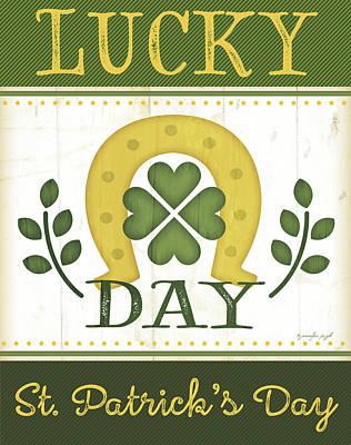 Lucky Day Poster by Jennifer Pugh