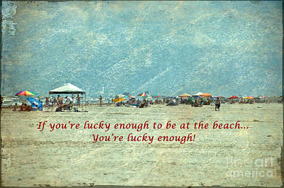 Lucky Enough Poster