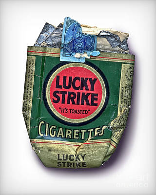 1940's Lucky Strike Green Poster