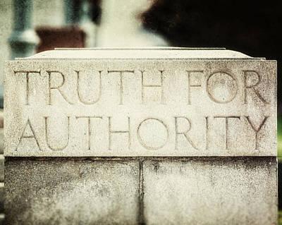 Lucretia Mott Truth For Authority Poster
