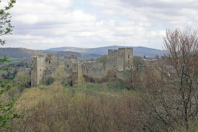 Ludlow Castle Poster by Tony Murtagh