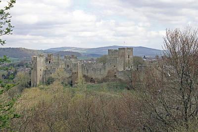 Ludlow Castle Poster