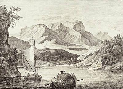 Ludwig Richter German, 1803 - 1884, Der König-see Gegen Poster by Quint Lox