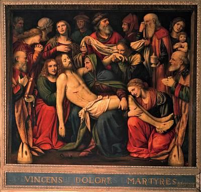 Luini Bernardino, The Deposition, 1516 Poster