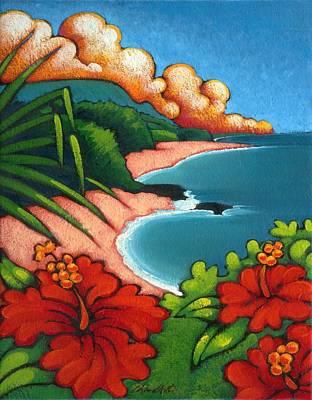 Lumahi Beach Poster