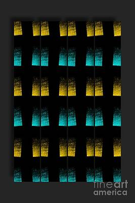 Poster featuring the digital art Luminescence 7a by Darla Wood