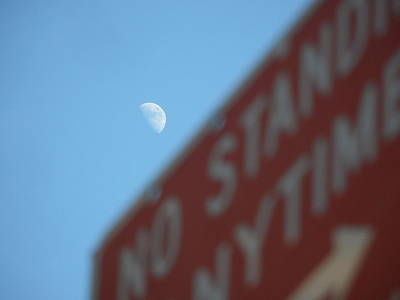 Lunar Destination Poster